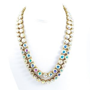J. Crew Jewelry - J. Crew Aurora Borealis  Statement Necklace